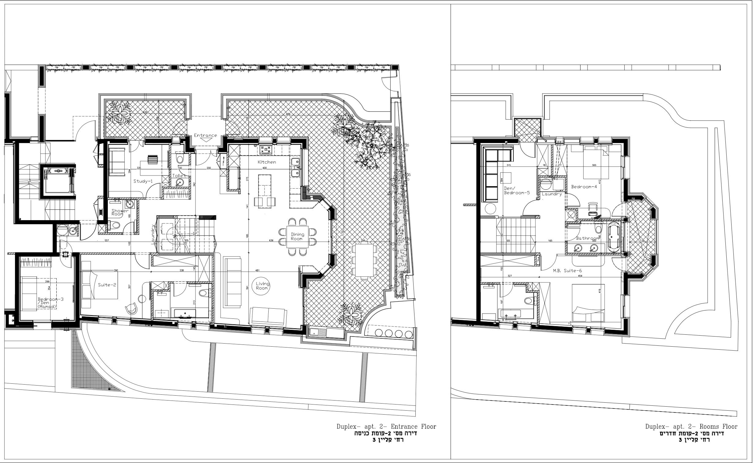 Floor Plan Duplex