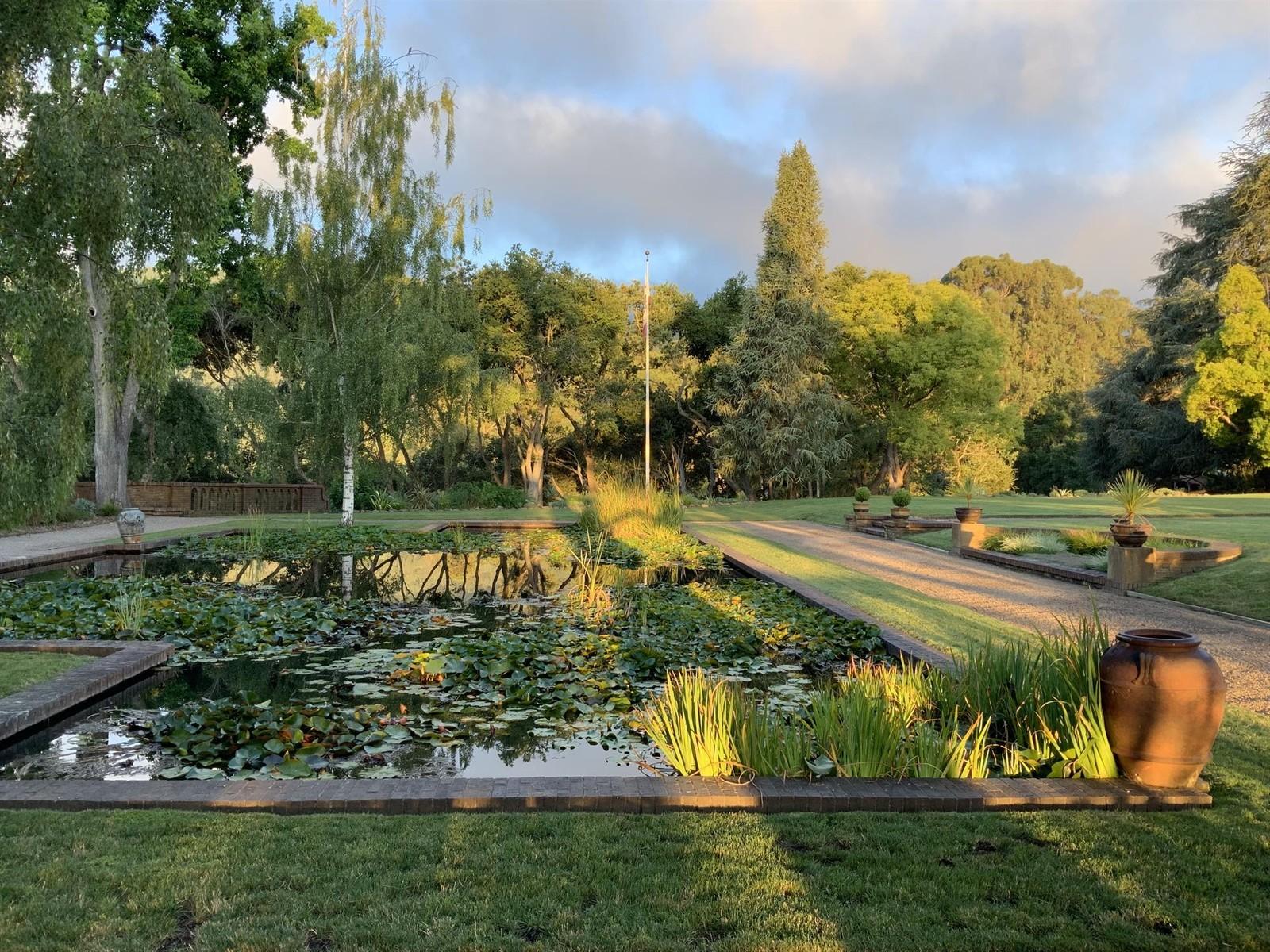 House for sale in Woodside California, mls, property for sale, real estate, Ahava Jerusalem, pond, garden, luxury, beautiful scenery